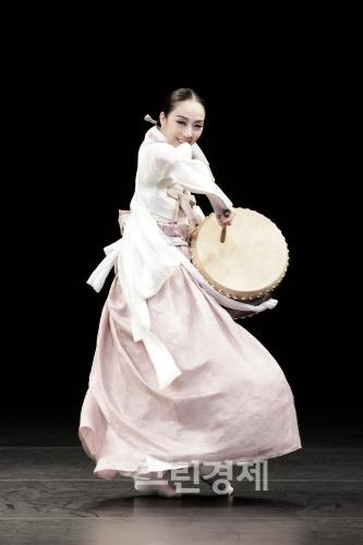 ▲진도북춤