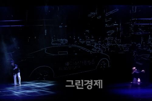 ▲황지영안무의『BLACK』