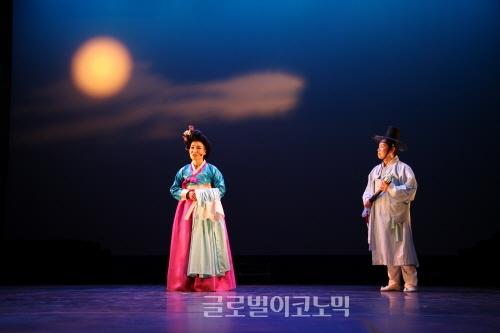 ▲김홍주안무의'하남이와나선녀의검단산사랑뎐'(2014)▲김홍주출연'소고'