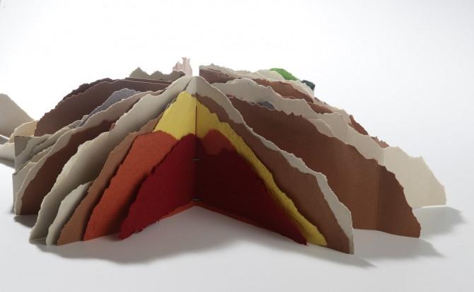 강진숙 작 산, 31x25.5cm, 2005