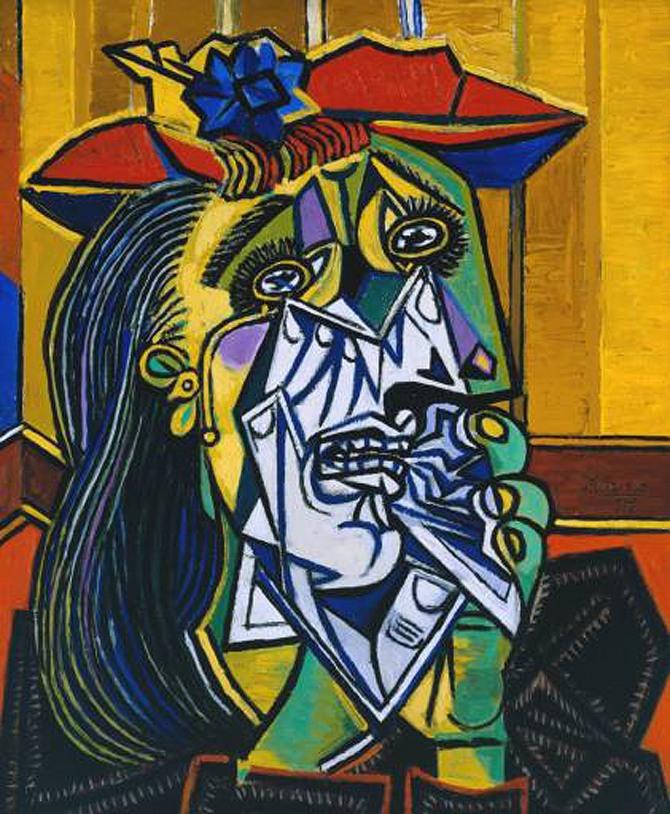 피카소 작 우는 여인(Weeping Woman), 1937