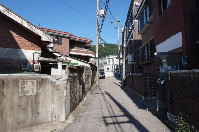 은평구 갈현1구역 주택가 전경. 사진=김하수 기자