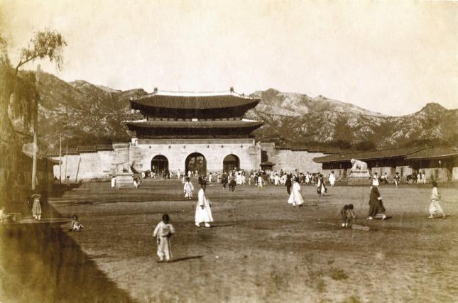 1900년대의 광화문