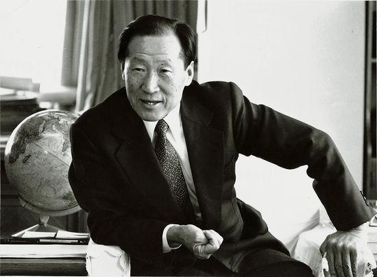 한국 산업계의 거목 고 정주영 회장