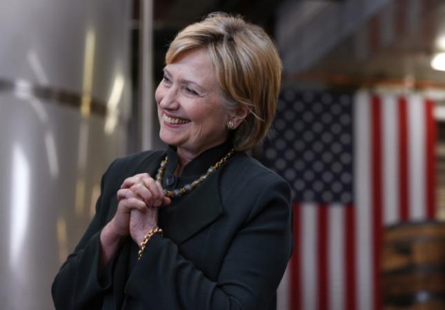미국 민주당 대선 후보 힐러리. /사진=뉴시스